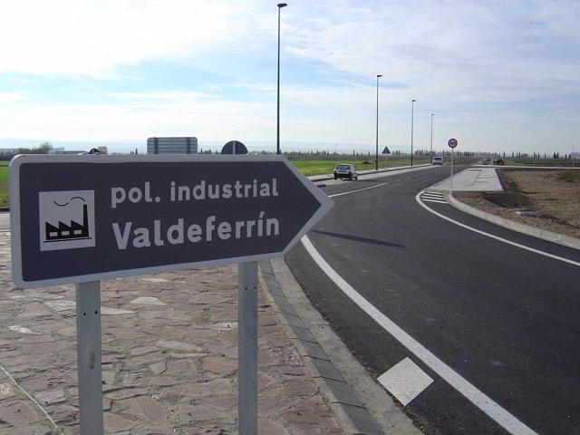 Polígono industrial de Valdeferrin, en Ejea