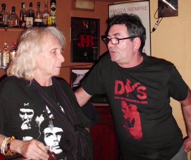 Soren Peñalver junto a Diego Arques
