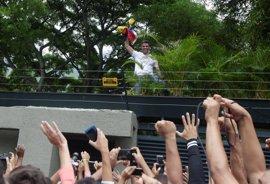 Leopoldo López llama a la movilización y se declara dispuesto a volver a prisión por mantener la lucha