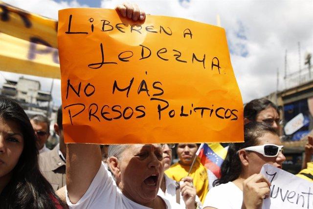 Detención de Ledezma en Caracas