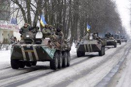 Al menos dos militares heridos en el este de Ucrania durante las últimas 24 horas