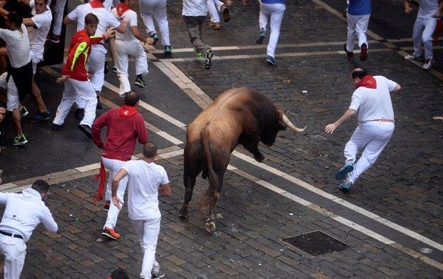 Encierro 9 julio Pamplona