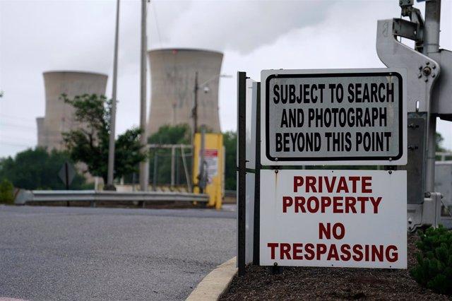 Planta nuclear de Estados Unidos
