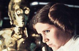 Carrie Fisher pensaba que Star Wars era una estúpida pesadilla