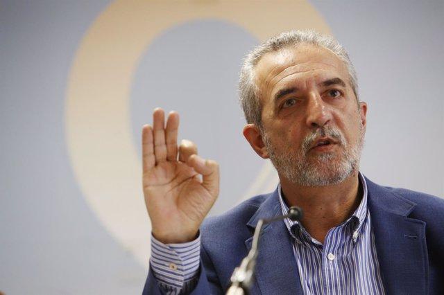 El concejal de Bienestar Social y Empleo de Sevilla, Juan Manuel Flores