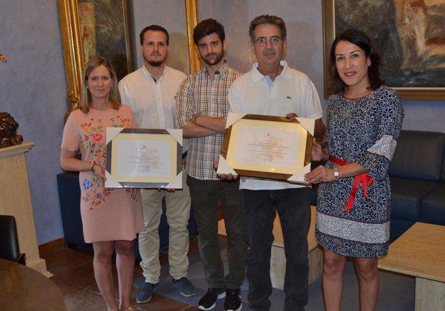 Entrega de premios Medio Ambiente y Empresa de la Diputación de Córdoba