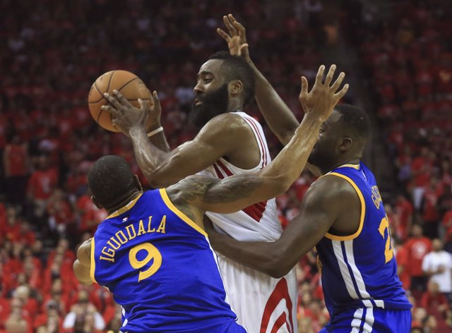 James Harden en el Golden State Warriors - Houston Rockets