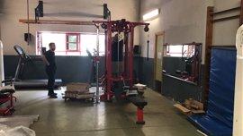 Ayuntamiento de Sevilla destina 100.000 euros a mejorar los gimnasios de los parques de Bomberos y a nuevas motobombas