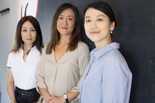 Nakamura Abe Maezawa profesoras japonés Centro Cultura asiática