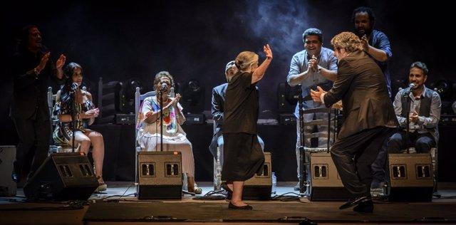 Actuación del sábado en el Festival de Flamenco y Fado
