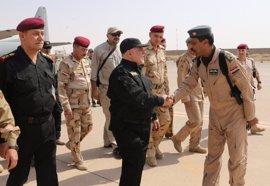 """El primer ministro iraquí declara la """"victoria"""" en Mosul"""
