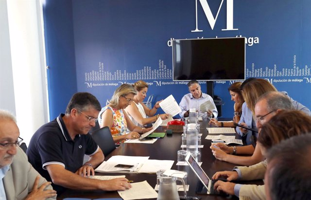 Junta de gobierno de diputación de málaga presidida Bendodo 5 de julio 2017