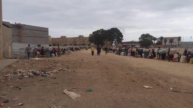 CEP denuncia suciedad en los aledaños de la frontera Melilla-Marruecos