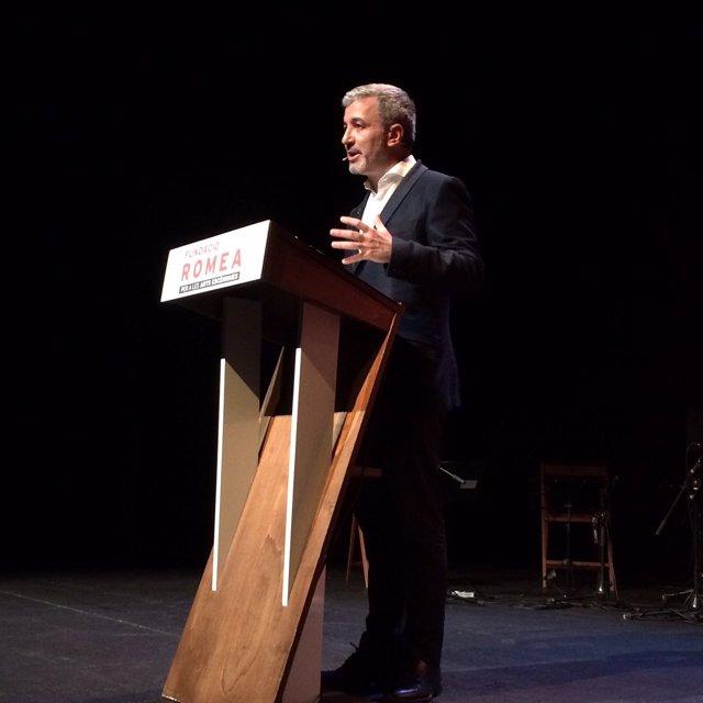 El teniente de alcalde Jaume Collboni