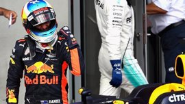 "Ricciardo: ""He aguantado a Hamilton obligándome a frenar en los momentos clave"""
