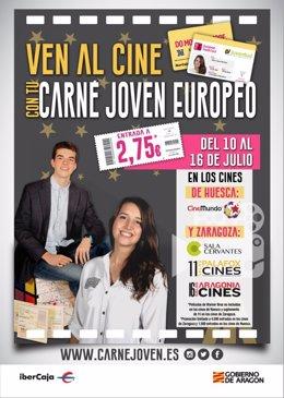 El IAJ lanza una promoción para ir al cine por 2,75 euros