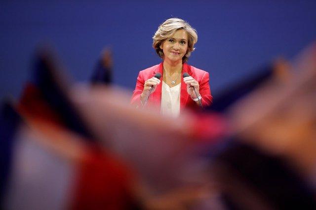 La exministra conservadora francesa Valérie Pécresse