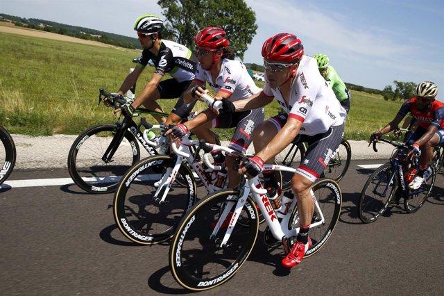 El ciclista español Alberto Contador