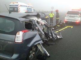 Ocho personas fallecen en las carreteras en el segundo fin de semana de la 'Operación Salida' de tráfico