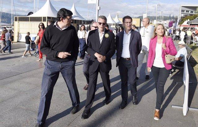 El presidente de la Xunta en el 'Vigo SeaFest'