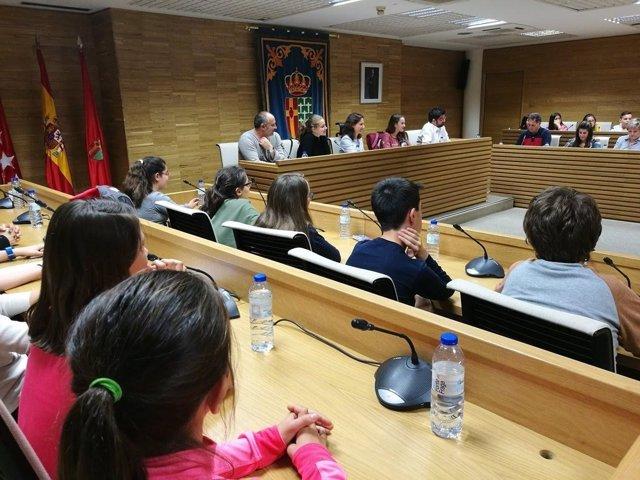Comisión de Participacion de la Infancia en Getafe