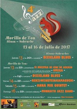 Cartel del IV Pirineos Jazz Festival