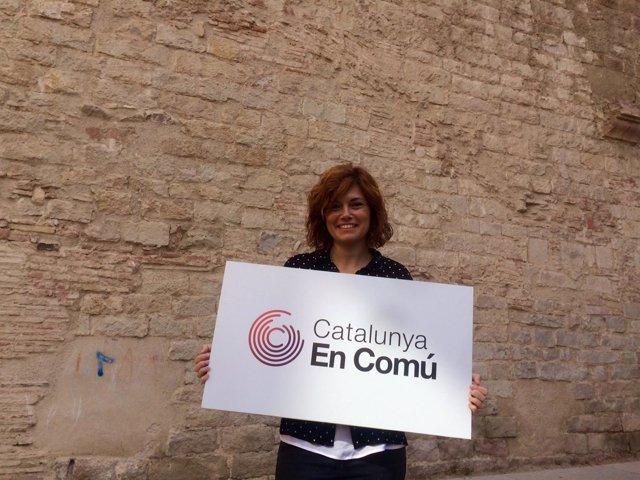 La portavoz de Catalunya en Comú, Elisenda Alamany