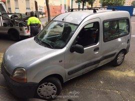 Detenido en Sevilla por robar una motocicleta y circular en una furgoneta sin carné, seguro ni ITV