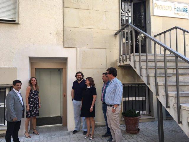 Visita al centro de la Fundación Proyecto Hombre
