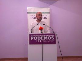 """Podemos Andalucía defiende el 1-O frente a quienes quieren una democracia """"enferma"""""""