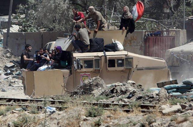 Ofensiva sobre el Estado Islámico en Mosul