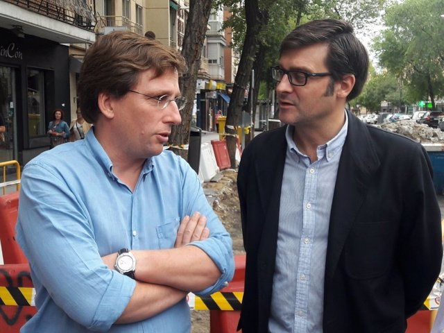 José Luis Almeida en Carbanchel