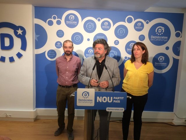 Antoni Castellà, Assupció Laïlla y Gerard Ardanuy (Demòcrates)
