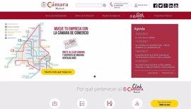 """La Cámara de Comercio de Madrid digitaliza sus servicios en una nueva web """"más intuitiva y práctica"""""""