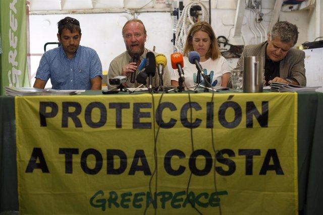 Barco Esperanza Puerto Malaga Greenpeace observatorio sostenibilidad