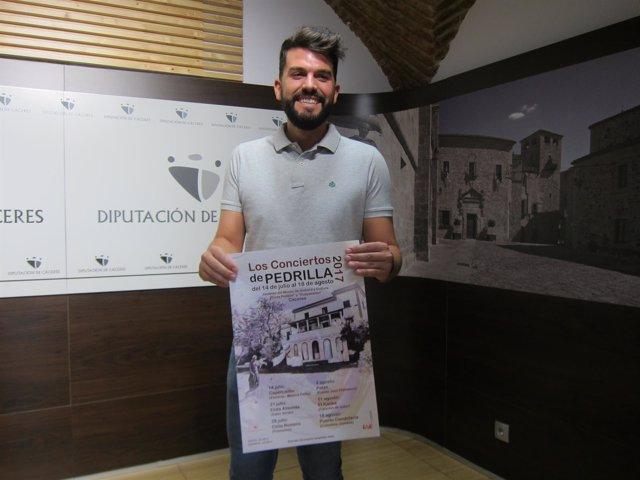Presentación de los XXI conciertos del Museo Pedrilla de Cáceres