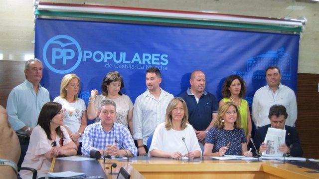 Alcaldes del PP en las Cortes