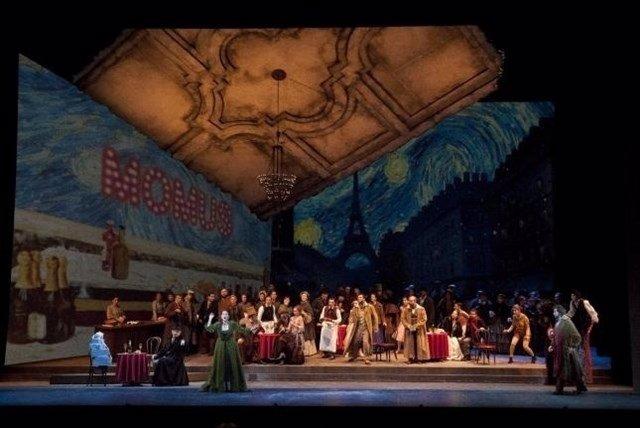 Una representación de 'La Bohème' del Palau de Les Arts (archivo)