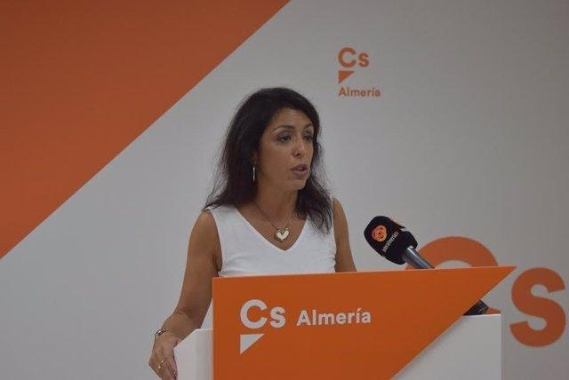 Marta Bosquet (Cs), en rueda de prensa