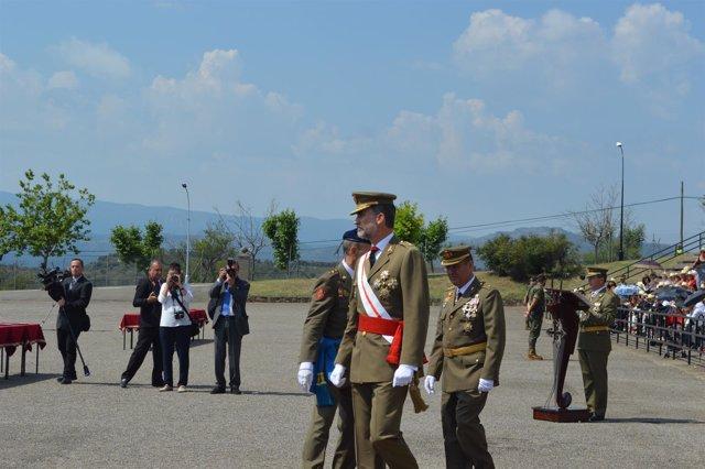 El Rey Felipe VI en Talarn (Lleida)
