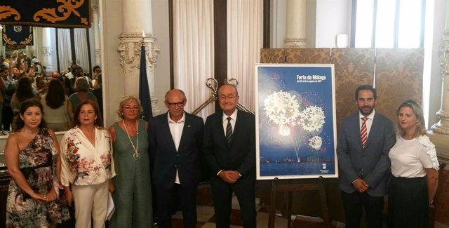 Presentación del abanderado Feria 2017. Francisco Jurado 'Coco'