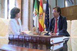 """Santamaría y Vara ponen en valor la Conferencia de Presidentes y convienen que """"hay que preservar ese instrumento"""""""