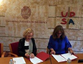 UPSA y Colegio Periodistas de CyL firman un acuerdo sobre formación e investigación