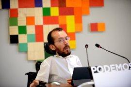 Podemos defiende la autonomía de los ayuntamientos para decidir si homenajean a Miguel Ángel Blanco