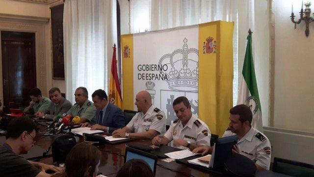 El delegado del Gobierno en Andalucía presenta la Operación Verano