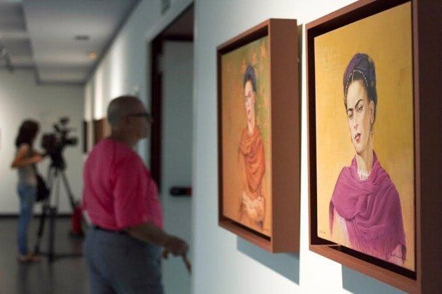 La exposición sobre Frida Kahlo, en el Centro Unicaja de Cultura