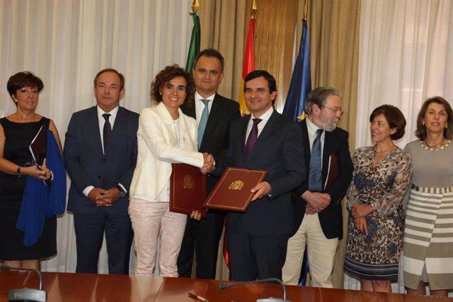 Reunión bilateral  españa y portugal