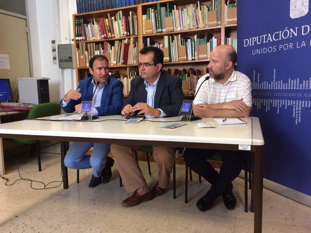 La Diputación Provincial apoya la Feria del Libro de Cuevas del Almanzora.
