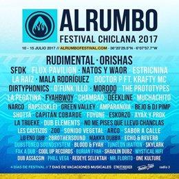 Cartel de Alrumbo 2017