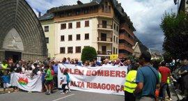 Sindicatos ven ilegal que bomberos voluntarios trabajen como profesionales en la Alta Ribagorça